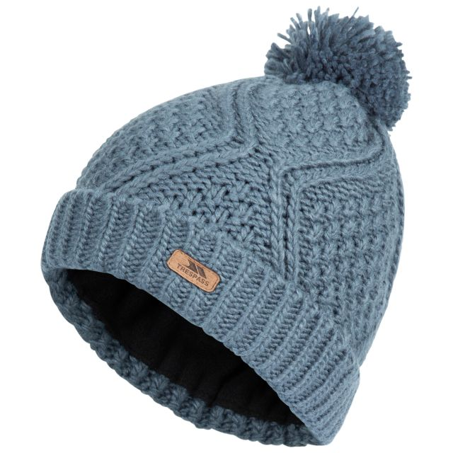 Trespass Womens Hat Zyra - PEW, Hat at angled view
